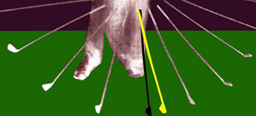 Why a flat left wrist at impact should not be by manipulation